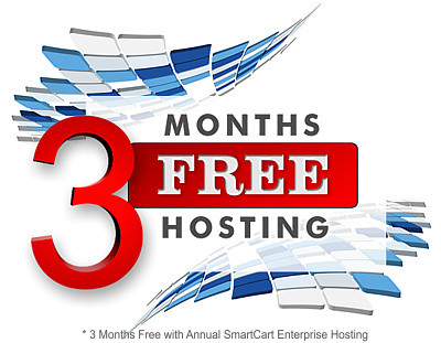 Up to 3 Months Free Ecommerce Hosting