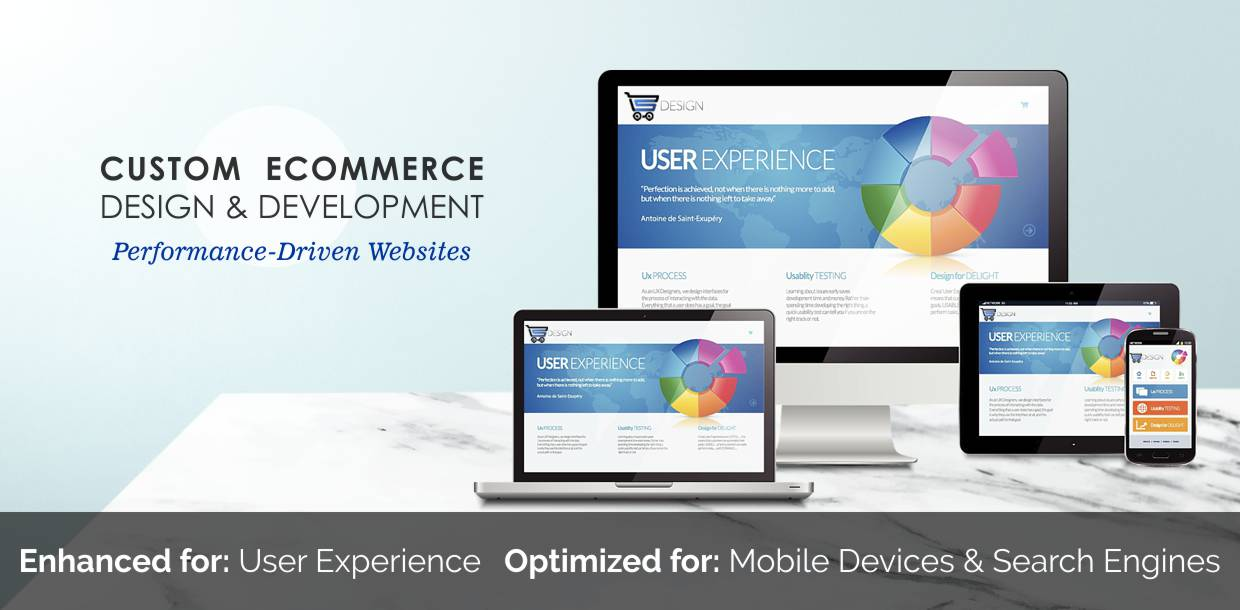 Custom Ecommerce Design and Development